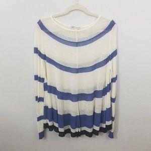 Autumn Cashmere Lightweight Linen Blend Sweater